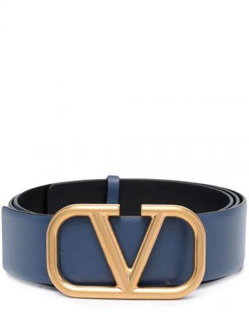 7cm blue VLOGO adjustable belt