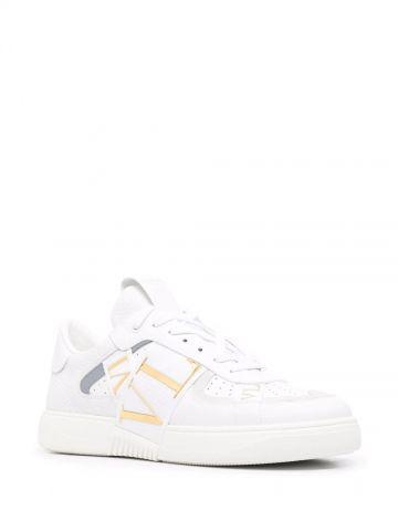 White VLTN sneakers