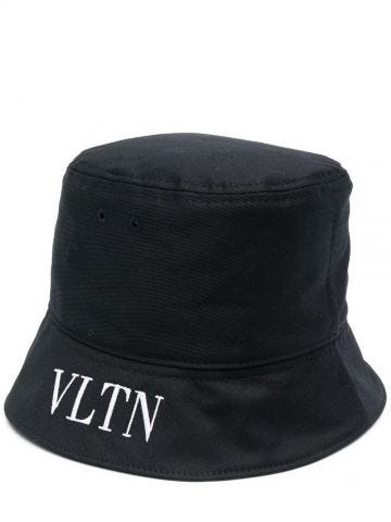 Cappello da pescatore VLTN nero