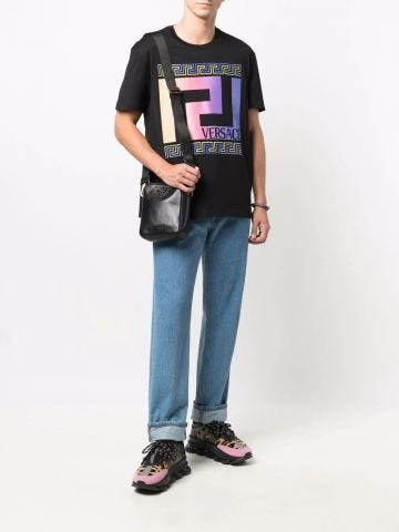 Black Greca T-shirt