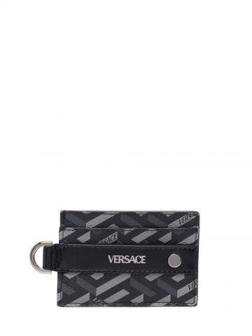 Black La Greca card holder