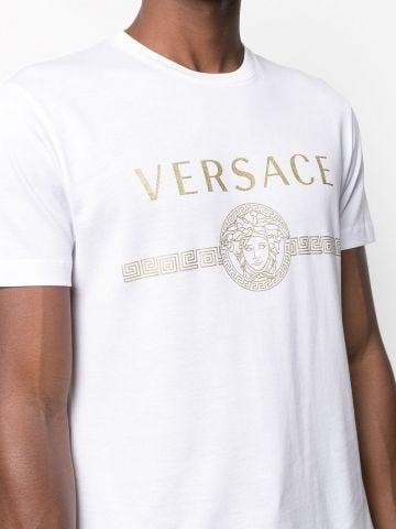 Medusa logo white T-shirt