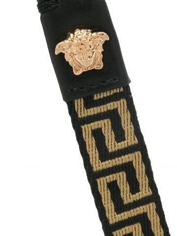 Black Greca key chain