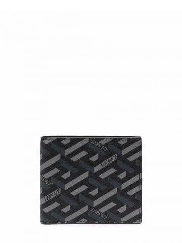 Portafoglio bi-fold nero