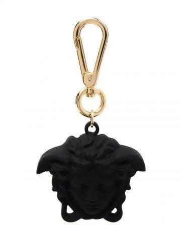 Black Medusa-head motif key chain