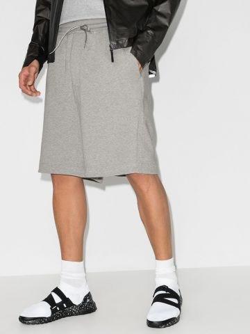 Grey drawstring sport shorts