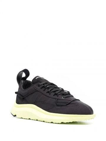 Black Shiku Run sneakers