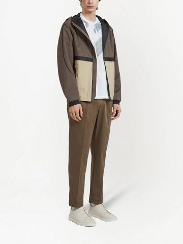 Color-block design jacket