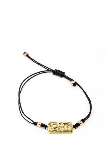 Lingot d'Amour macramè bracelet with ingot