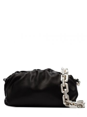 The Chain Pouch black bag