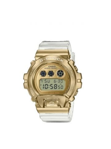 Gold G-Shock watch