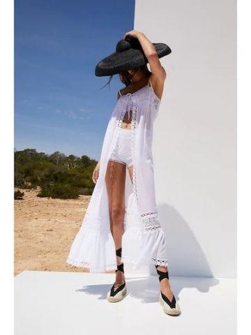 White Helen cover-up dress