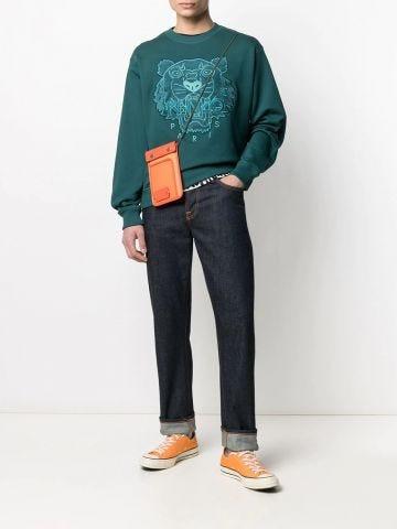 Green Tiger Sweatshirt