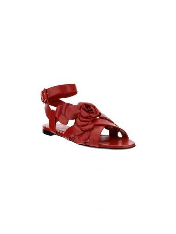 Red Atelier shoe 03 rose edition flat sandals