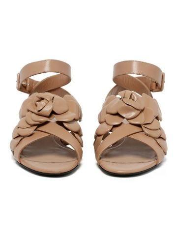 Beige Atelier shoe 03 rose edition flat sandals