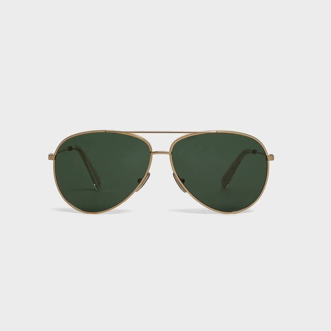 Timeless style  @genteroma @celine   Celine Metal frame 02 Aviator sunglasses available in store at Via del Babuino, 77.  #GenteRoma #Celine #FW20