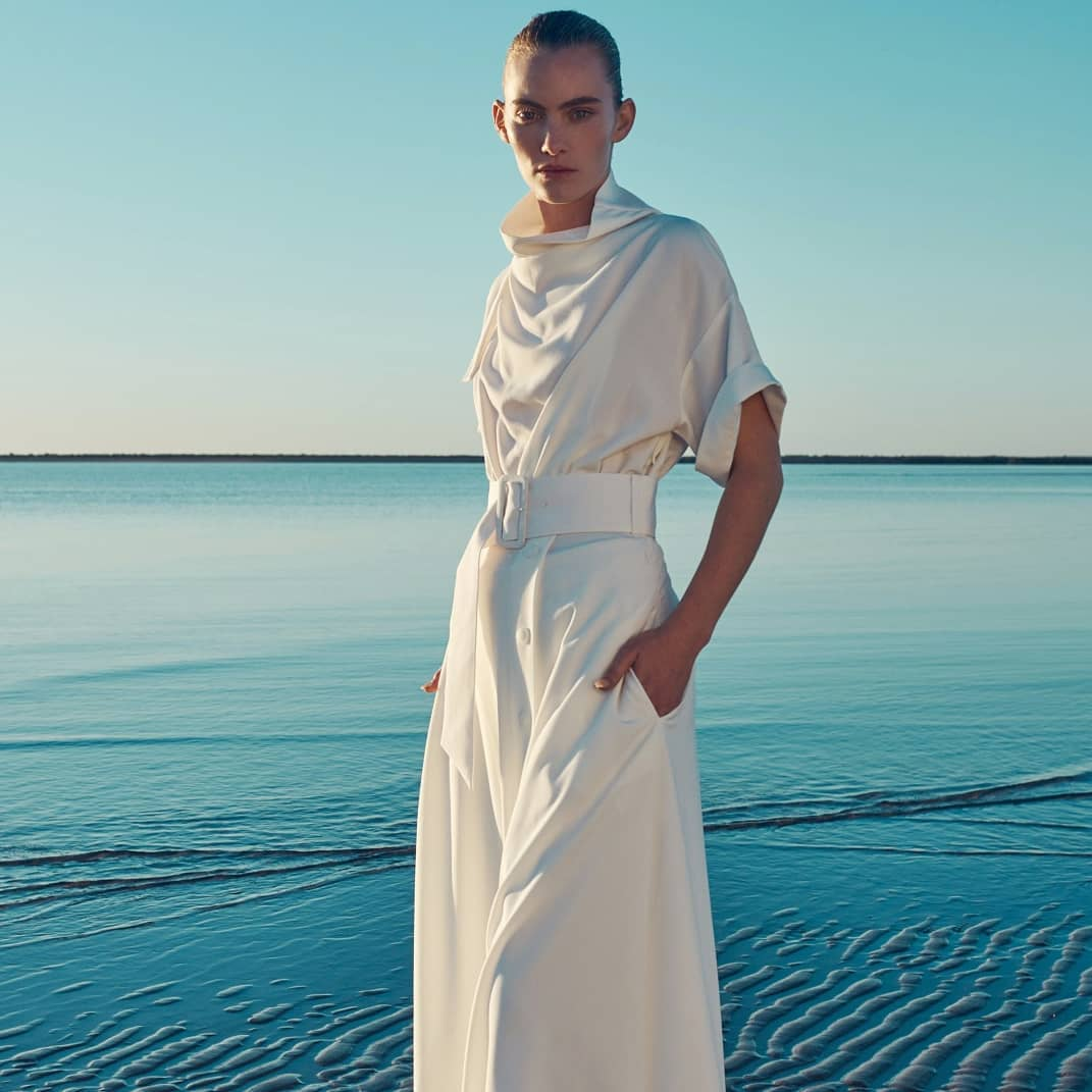 Effortless summer elegance  @genteroma @camillaandmarc   Camilla and Marc Benito long dress available on genteroma.com and in store at Via Frattina, 92.  #GenteRoma #CAMILLAANDMARC #SS20