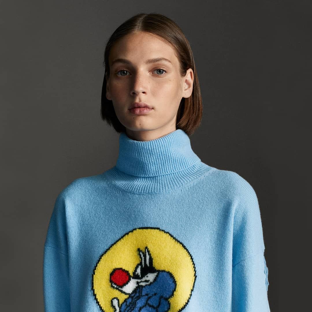Playful print @genteroma @moncler   Cashmere sweater from the 1 Moncler JW Anderson, collection n°1 of Moncler Genius project available on genteroma.com and in store at Via del Babuino, 77.  #GenteRoma #MonclerGenius #MONCLERJWANDERSON
