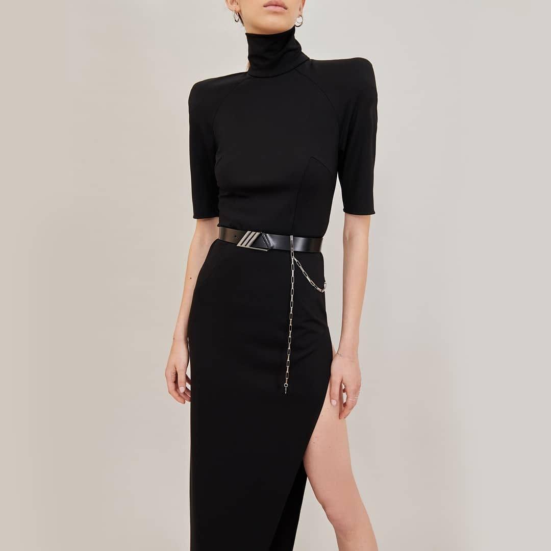 Glamour attitude @genteroma @the_attico   The Attico dress available on genteroma.com and in our boutiques.  #GenteRoma #TheAttico #SS21