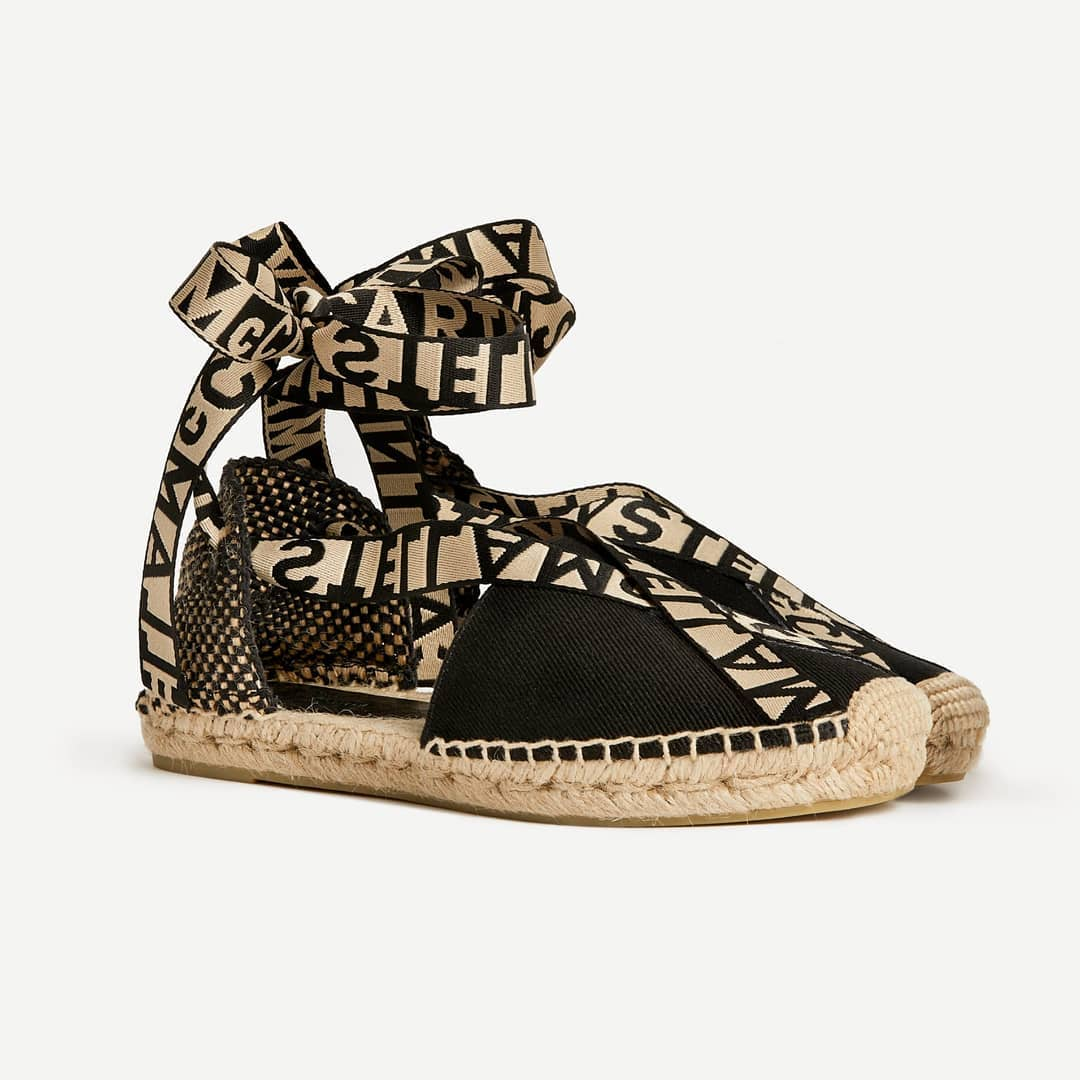 For Summer days  @genteroma @stellamccartney   Stella McCartney Gaia espadrilles sandals available on genteroma.com and in store at Via Frattina, 92.  #GenteRoma #StellaMcCartney #SS20